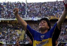 ¡Todo por Maradona! Hinchas de River Plate y Boca Juniors rinden homenaje juntos en la Bombonera