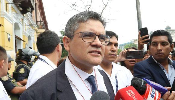 El fiscal José Domingo Pérez interpuso una recusación contra el juez Roger Santos Benites, quien tiene previsto evaluar el pedido de variación de prisión preventiva presentado por la defensa de Jaime Yoshiyama. (Foto: Rolly Reyna)