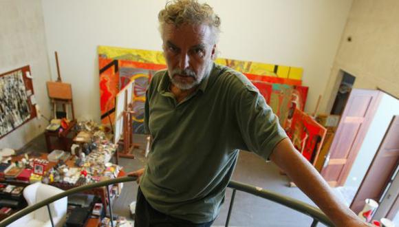Ramiro Llona, uno de nuestros más importantes artistas, se ha visto, a su pesar, en el centro de la más absurda agresión en las redes sociales post-electorales. (FOTO: El Comercio)