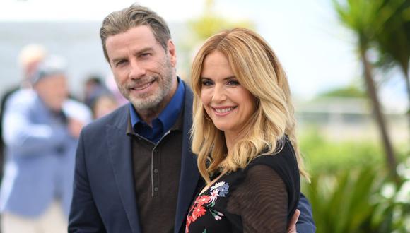 John Travolta y Kelly Preston se conocieron en 1989 y dos años después se casaron en Paris. La pareja ha estado unida durante los últimos 29 años (Foto: AFP)