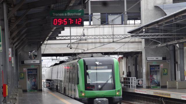 METRO DE LIMA LINEA 1, TREN ELECTRICO