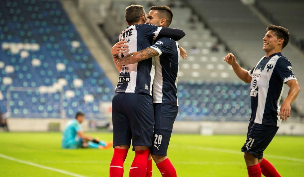 Monterrey vs. Cruz Azul: las imágenes del duelo por la Liga MX   Foto: EFE