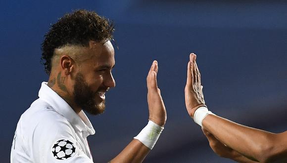 Paris Saint-Germain venció 2-1 al Atalanta en los cuartos de final de la Liga de Campeones, luego de ir perdiendo hasta el final del tiempo reglamentario. (Foto: AFP)