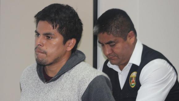 José Luis Falcón Gutiérrez se entregó a la Policía tras perpetrar el feminicidio. (Foto: Corte Superior de Justicia de Lima Norte/Twitter)