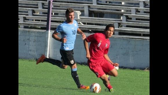 Selección Sub 20 cerró gira con derrota ante Uruguay
