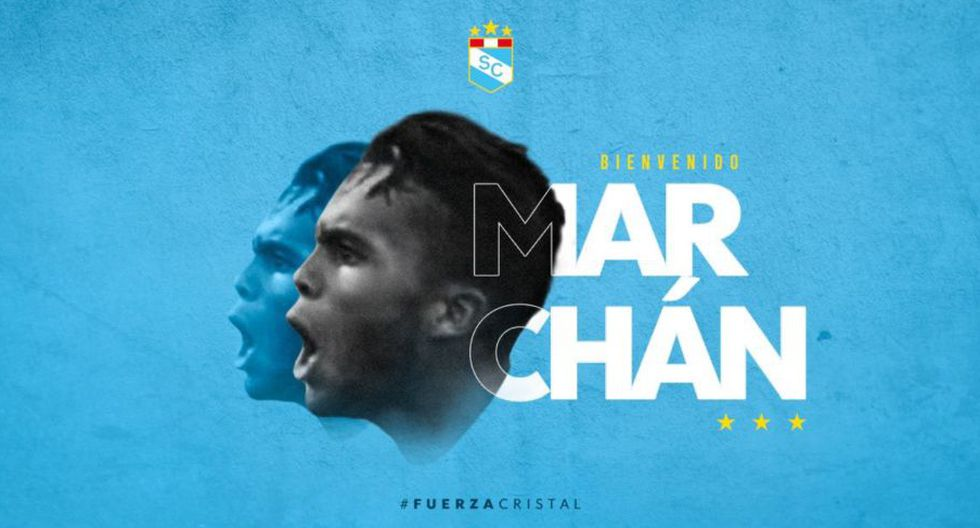 Sporting Cristal anunció al venezolano John Marchán como último refuerzo para la Liga 1