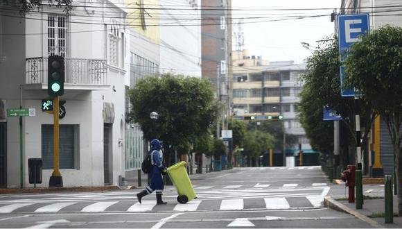 La ministra de Desarrollo e Inclusión Social, Silvana Vargas, aseguró que, según las estadísticas, medida logra disminuir la movilización y las aglomeraciones de las personas. (Foto: Jesús Saucedo)