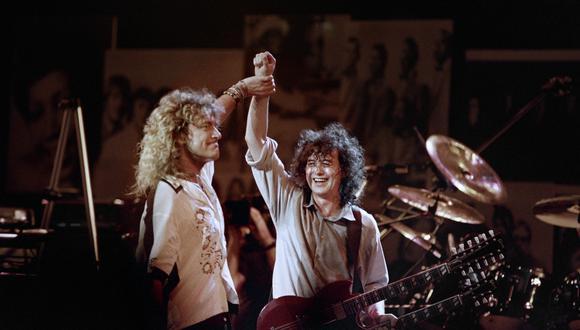 Led Zeppelin emitirá su histórica reunión de 2007 en Youtube. (Foto: AFP)