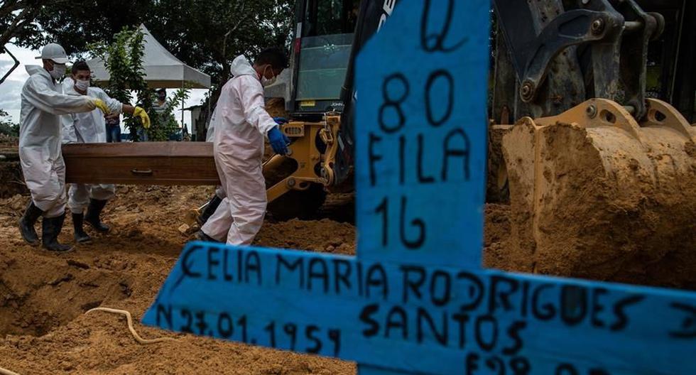 Coronavirus en Brasil | Últimas noticias | Último minuto: reporte de infectados y muertos por COVID-19 hoy, martes 2 de marzo del 2021. (Foto: EFE/Raphael Alves).