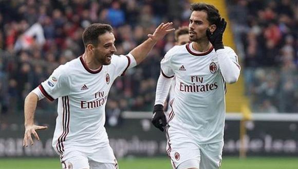 El jugador del Milan saludó la decisión del TAS. (Foto: Instagram)