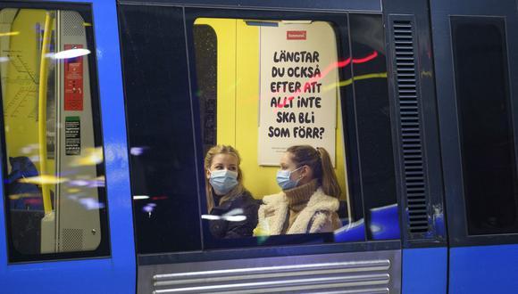 Suecia encadena tres semanas con contagios de coronavirus al alza y se dirige a la tercera ola de la pandemia. (Jessica Gow / TT News Agency / AFP).