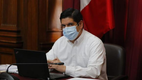 """El primer vicepresidente del Congreso instó al Ministerio Público y a la Policía Nacional del Perú a """"tomar carta inmediata en estos asuntos"""" y consideró que """"no es admisible que se pretenda interferir en los debates parlamentarios"""". (Foto: Congreso)"""