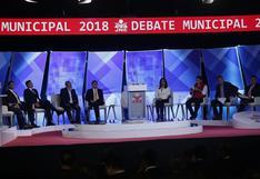 Debate municipal: candidatos a la alcaldía de Lima expusieron sus propuestas