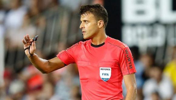 Jesús Gil es de los árbitros más reconocidos del fútbol español. (Foto: RFEF)