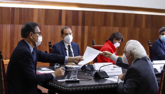 """Vizcarra afirmó que ningún país que ha afrontado una grave amenaza ha salido airoso """"en medio de la división"""".  (Foto: Presidencia de la República)"""