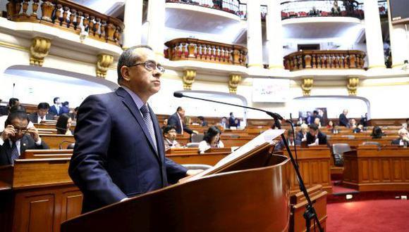 Congreso debate hoy moción de censura a Jaime Saavedra