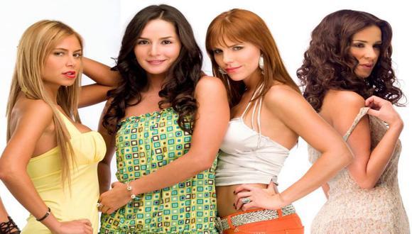 """El antes y ahora de """"Las chicas del barrio"""" en """"Sin senos no hay paraíso"""" (Foto: Telemundo)"""