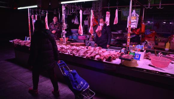 El precio del cerdo, uno de los productos más demandados por los consumidores chinos, continúa imparable y aumentó el 116 % interanual el mes pasado. (Foto referencial: AFP)