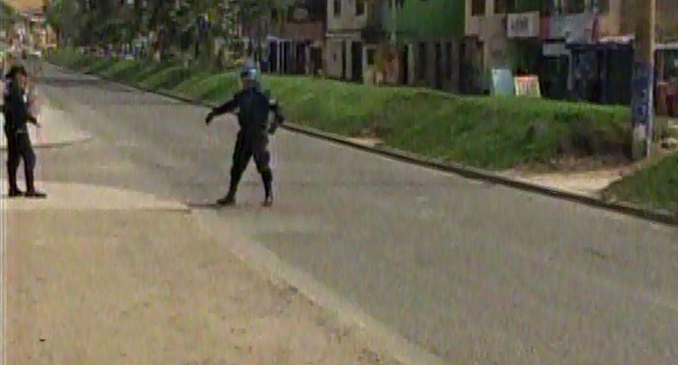 SJM: UDEX se movilizó por réplica de granada en casa de alcalde - 6