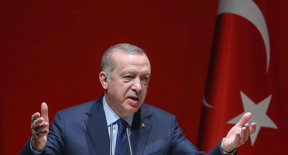 """el presidente de Turquía, Recep Tayyip Erdogan, llamó a Nicolás Maduro para expresarle su respaldo. """"¡Maduro, hermano! Mantente firme, estamos contigo"""". Foto: Archivo de AFP"""