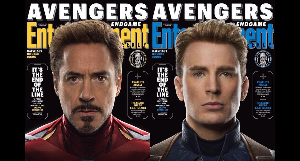 """""""Avengers: Endgame"""": los vengadores originales protagonizan la portada de la revista Entertainment Weekly. (Foto: @marvelstudios)"""