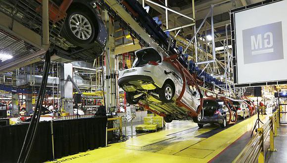 Estados Unidos: producción industrial se recuperó en febrero