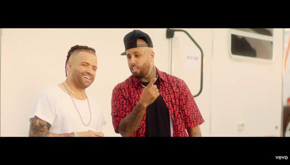 "Nacho y Nicky Jam lanzan nuevo single ""Mona Lisa"" (Foto: Captura de pantalla)"