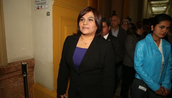 Ex congresista Esther Capuñay renunció a Solidaridad Nacional