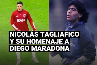 Diego Maradona: Nicolás Tagliafico y su homenaje al astro argentino