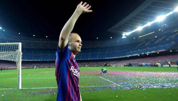 Andrés Iniesta envió un mensaje a Barcelona en medio de la crisis. (Foto: AFP)