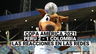 Copa América 2021: Celebra el hincha peruano en las redes sociales, por el 2 - 1 de Perú ante Colombia