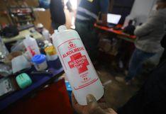 Digemid aconseja no usar alcohol de 96 grados como desinfectante para manos