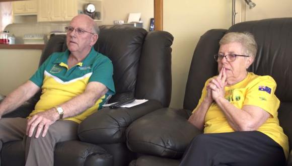 Kyle Chalmers se consagró en Río 2016 y sus abuelos lo festejan