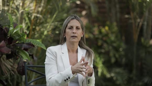 María del Carmen Alva ha obtenido 19,448 votos preferenciales. Había postulado al Parlamento en el 2020 y en el 2006 sin éxito. (Foto: Anthony Niño de Guzmán | El Comercio)