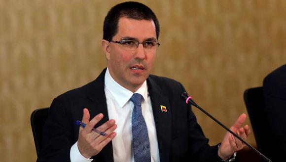 EE.UU. impone sanciones al canciller venezolano Jorge Arreaza. (Foto: Reuters)