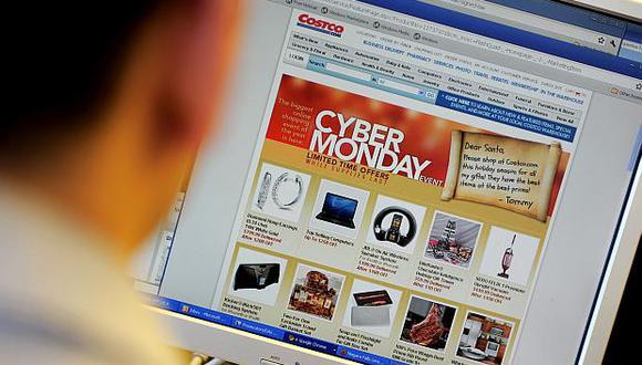 """Las ventas online pueden alcanzar los US$7,800 millones durante el """"Cyber Monday"""" en Estados Unidos. (Foto: AFP)"""