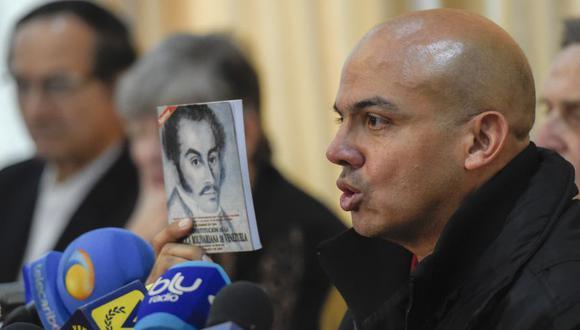 Cliver Alcalá dijo a las autoridades estadounidenses el jueves por la noche que se rendiría, según una fuente de la DEA. (Foto: AFP/Archivo).