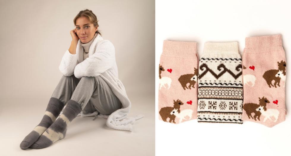 """""""Saqina"""", la marca peruana que ofrece cómodas prendas a base de hilado de alpaca"""