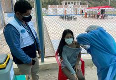 Cañete: vacunan a mayores de 18 años a más contra el COVID-19 en seis distritos