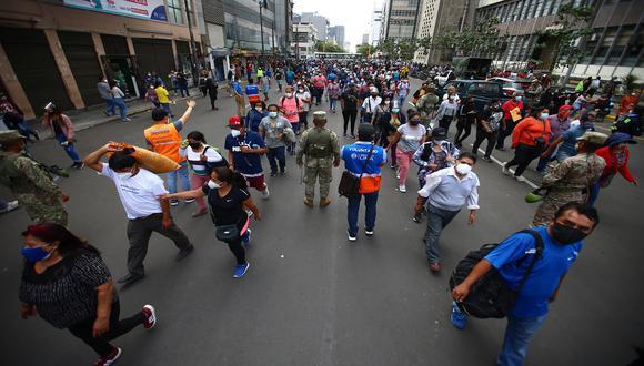 Lima Metropolitana y Callao pasan desde el 26 de julio al nivel de alerta sanitaria moderado | Foto: Hugo Curotto / Archivo El Comercio