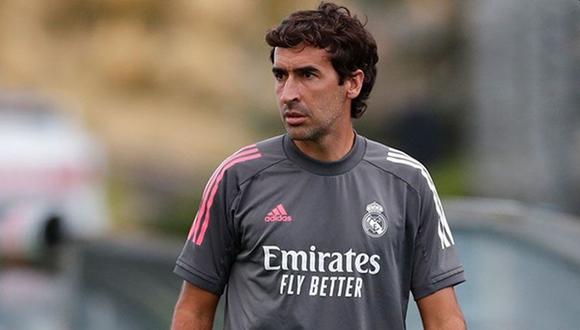 Raúl González es entrenador del Real Madrid Castilal desde el 2019. (Foto: Real Madrid)