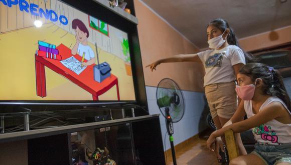 Nuevo camino. Escolares de diferentes niveles adecuarán sus capacidades a la educación virtual. (GEC/Anthony Niño de Guzmán)