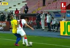 Perú vs. Brasil: tras revisión en el VAR, Julio Bascuñán expulsó a Carlos Zambrano | VIDEO