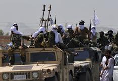 Afganistán: talibanes desfilan con vehículos militares que dejaron los estadounidenses | FOTOS