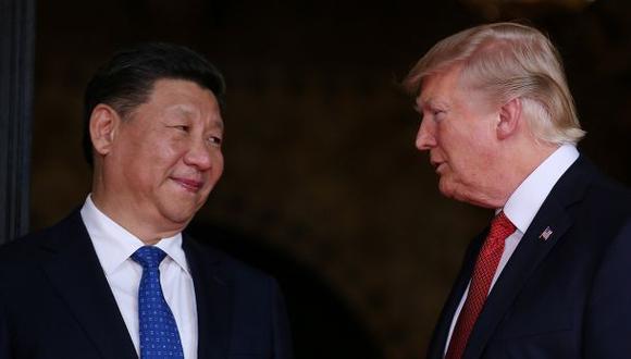 """Trump dice que tiene buena """"química"""" con el presidente chino"""