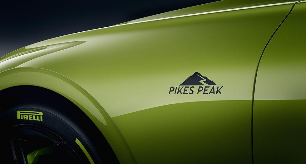 El Continental GT se convirtió este año en el auto de producción más rápido en Pikes Peak. (Foto: Bentley)