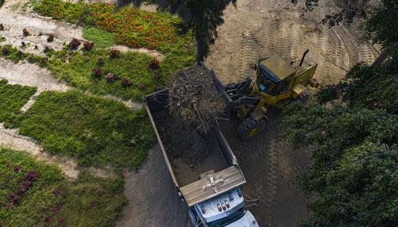 La Municipalidad de Lima detalló que en la zona se realiza la limpieza pública y el recojo de residuos sólidos, incluidos los de construcción y demolición. (Foto: MML)