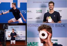Tenista alemán recibió un rollo de papel higiénico por ganar un torneo en tiempos de coronavirus | FOTOS
