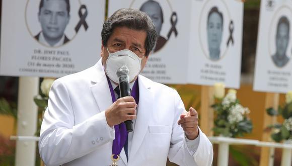 Desde que empezó la pandemia, 327 médicos han fallecido en el Perú a causa del COVID-19. (Foto: Archivo GEC)