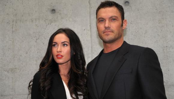 Brian Austin Green anunció que se encuentra separado de Megan Fox. (Foto: AFP)